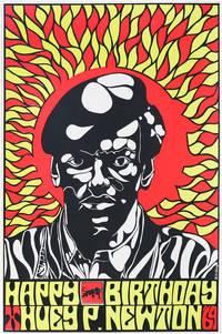 image of Poster: Happy Birthday Huey P. Newton '69