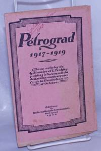 image of Petrograd, 1917 - 1919.  Deux articles de G. Zinoviev et L. Trotsky publies a l'occasion du deuxieme anniversaire deuxieme anniversaire de la Revolution d'Octobre