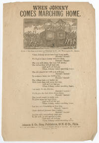 "Civil War Song Sheet: ""When Johnny Comes Marching Home"""