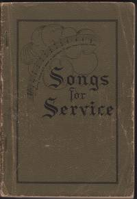 image of SONGS FOR SERVICE for the Church, Sunday School and Evangelistic Services.
