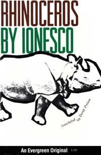 Rhinoceros by Eugène Ionesco - Paperback - First edition twenty-fifth printing - 1960 - from Orange Cat Bookshop (SKU: 237)