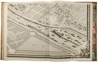 Plan de Paris, Commencé l'Année 1734. Dessiné et Gravé, sous les ordres de Messire Michel Etienne Turgot ... Achevé de Graver en 1739 ..