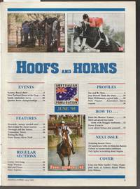 image of Hoofs and Horns Magazine June 1995