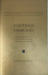 Paintings Under Gold. Catalogue Eight.