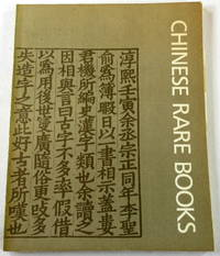 Chinese Rare Books in American Collections