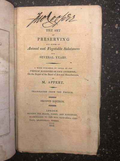 London: Black, Perry, and Kingsbury, 1812. Second Edition. Hardcover. Octavo, xxv, , 2-164 pages, ad...