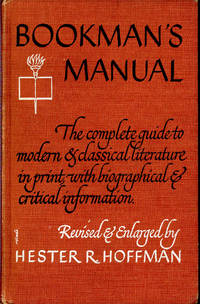Bookman's Manual : A Guide to Literature. by  ed  Hester R. - Hardcover - 1958 - from Joseph Valles - Books (SKU: 1068)