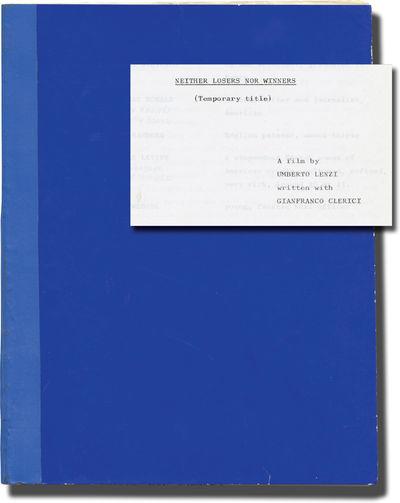 Madrid: Jose Frade Producciones Cinematograficas S.A., 1978. Draft script for the 1979 film. Here un...