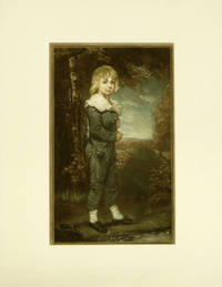 Pair of untitled prints - Boy in Blue / Girl in White