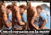 Con el corazón en la mano (Cartel de la película) by  David Mauricio (Director) and Maria Conchita Alonso Walerstein - from Alan Wofsy Fine Arts and Biblio.com