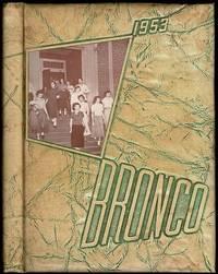 Bronco of 1953: Denton High School Class Annual