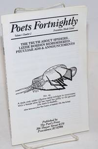 image of Poets Fortnightly: vol. 1, #2: The Truth about Spiders... Lizzie Borden Remembered... Peculiar Ads & Announcements