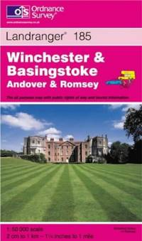 image of Winchester and Basingstoke, Andover and Romsey (Landranger Maps)