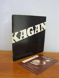 ILLI KAGAN First American Exhibition Catalog, 1971