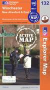 image of Winchester New Alresford and East Meon (OS Explorer Map Active)