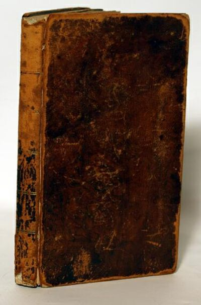 New Haven: A. H. Maltby & Co., 1824. First Edition. First printing Fair to good in full leather cove...