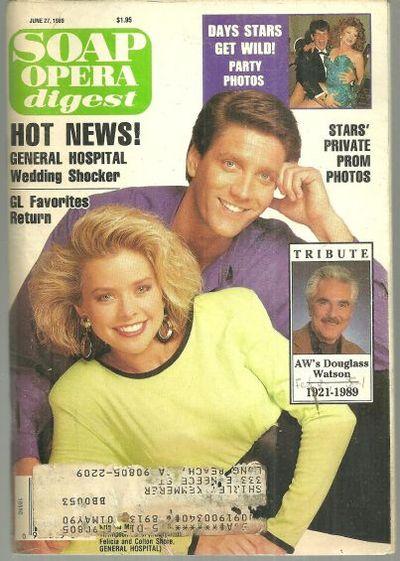 SOAP OPERA DIGEST JUNE 27, 1989, Soap Opera Digest
