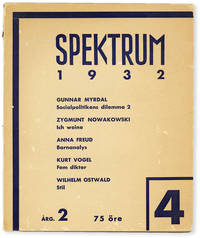 image of Spektrum - Vol.2, No.4 (1932)