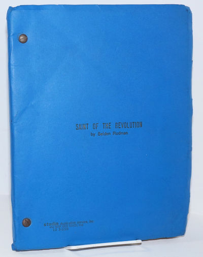 : self-published manuscript, 1978. 8.5x11 inches, printed recto-only, play manuscript in brad-bound ...