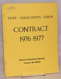Contract 1976-1977. Pierce County Library, Tacoma WA 98402