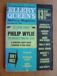 image of Ellery Queen's Mystery Magazine February 1964
