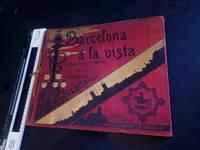 Barcelona a la Vista Album de Fotografias pictures  1900C vintage large book