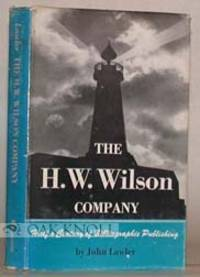 Minneapolis: University of Minnesota Press, 1950. cloth, dust jacket. Wilson. 8vo. cloth, dust jacke...