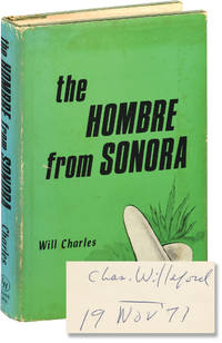 image of The Hombre from Sonora (First Edition, inscribed by Willeford)