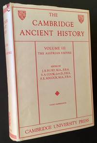 The Cambridge Ancient History: Volume III -- The Assyrian Empire