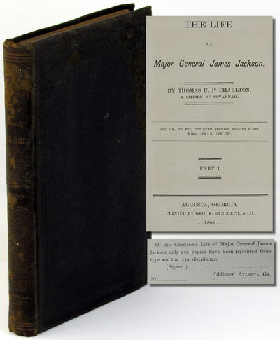 Atlanta: , . Hardcover. Good. Unnumbered out of series of 250cc. ix, 215pp; genelogical chart tipped...
