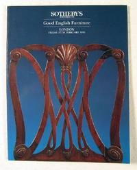 image of Sotheby's : Good English Furniture : London : February 17, 1995 : Sale No. LN5100 'FIR'