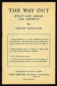 Pasadena, CA: Pub. by the author. Softcover. Fine. Sinclair reprint. Fine in stapled wrappers save f...