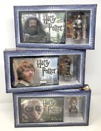 Harry Potter Postcard Book & Figurine Set, Complete Set of 7