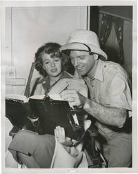 image of Rope of Sand (Original photograph from the set of the 1949 film)