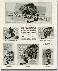 image of Short Cut to Hell (Original pressbook for the 1957 film)