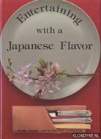 Entertaining with a Japanese Flavor. Kiyoko Konishi with the kitchens of Kikkoman