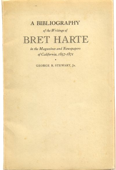 Berkeley, CA: University of California Press. Good. 1933. First Edition. Softcover. Tan wraps with m...