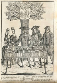 The Compleat Auctioneer, the EARLIEST IMAGE OF A BOOK AUCTION broadside, circa 1700,