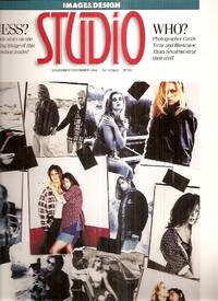 image of Studio [Image & Design] November / December 1994 Vol. 12 No. 6 [Studio  Magazine Number Eighty One]