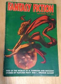 image of Fantasy Fiction for November 1953 Volume 1 Number 4