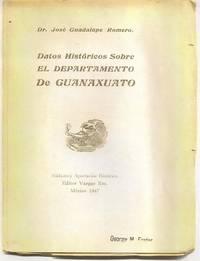 image of Datos Historicos Sobre el Departamento de Guanaxuato