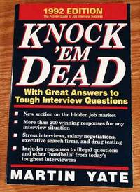 martin yate knock em dead cover letters A cover letter, covering letter, motivation letter, motivational letter or a letter of motivation is a letter of introduction attached to, or accompanying another document such as a résumé or curriculum vitae contents [hide] 1 for employment 2 for internship 3 other uses 4 references 5 further reading 6 external links.