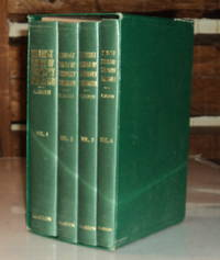 THE EARLY HISTORY OF VETERINARY LITERATURE AND ITS BRITISH DEVELOPMENT. Vol 1: From the Earliest Period to A.D. 1700. Vol. 2: The Eighteenth Century. Vol. 3: The Nineteenth Century, 1800-1823. Vol. 4: The Nineteenth Century,1823-1860. (4 volumes).