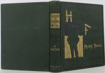 New York: Webster, 1885. First US edition. hardcover. Near fine.. A near fine first edition, with al...