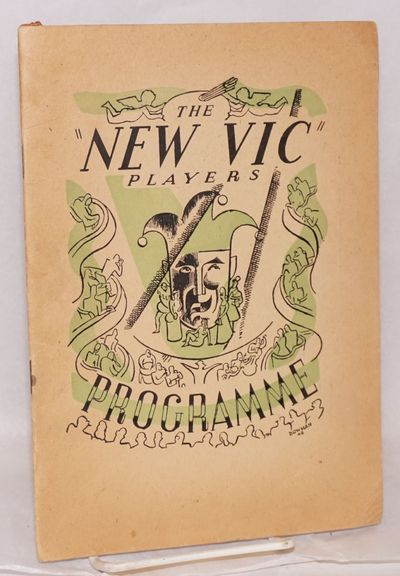 Cairo: Royal Opera House and The New Vic Players, 1945. 6.75x9.5 inches, cast, program, ads, very go...