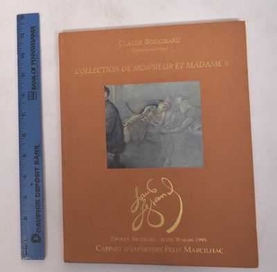 Paris: Marcilhac/Maury, 1995. Hardcover. VG. Peach cloth boards with color-illustration and gilt sta...