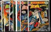 THE BRAVE AND THE BOLD; BATMAN #101, 103-110 1972-4 [COMIC BOOKS]