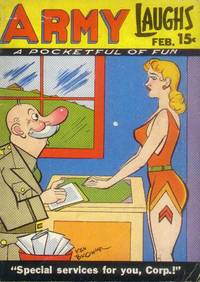 Army Laughs: February 1948: Vol. 7, No. 11