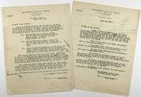 [Archive of Correspondence and Records Related to Speculative Claims on the Spindletop Estate]