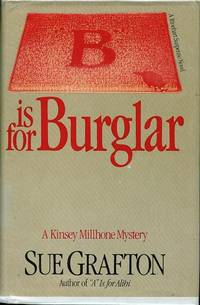 B is for Burglar by  Sue Grafton - Signed First Edition - 1985 - from Bookmarc's and Biblio.com